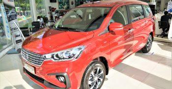 Suzuki Ertiga 2020 màu đỏ